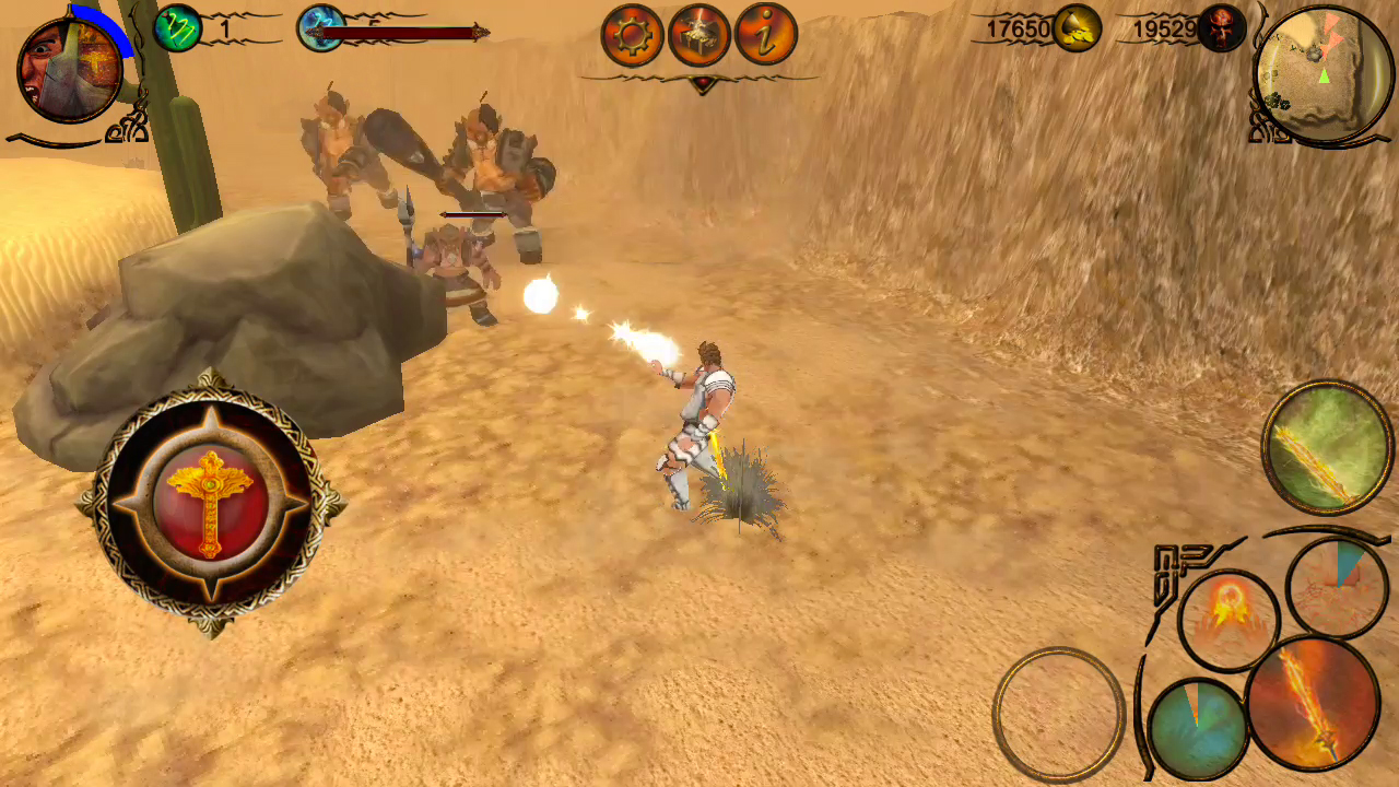 Glow christian mobile action rpg image